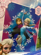 Disney Frozen Diamond Anna & Elsa Sisters Forever Twin Size Blanket 150cm X 200cm