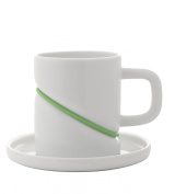RUBBER BAND - Cup & Saucer by Toast Living USA