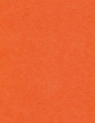 32kg Text Paper 8 1/2 x 11 - Poptone Tangy Orange, 50 pack