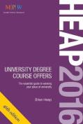 HEAP 2016: University Degree Course Offers