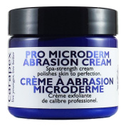 Carapex Professional Microdermabrasion Cream, Exfoliating Cream for Face, for Body, Exfoliator for Sensitive Skin, Oily Skin, Great for Acne Scars, Stretch Marks, Blackheads, Wrinkles, Exfoliating Treatment At Home, Contains Crystal Exfoliant 2 oz 60ml