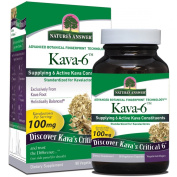 Nature's Answer Kava-6 Vegetarian Capsules, 90-Count