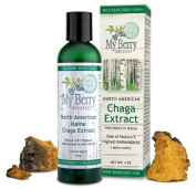 Maine Chaga Extract, Large 120ml Economy Size, Double Extraction,100% Wild Harvested, No Part is Cultivated, NOT Sourced From Siberia