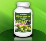 Best Naturals, 100% Pure Super Triphala, Zero Filler Ingredients 750 Mg Per Capsule, 120 Veggie Caps