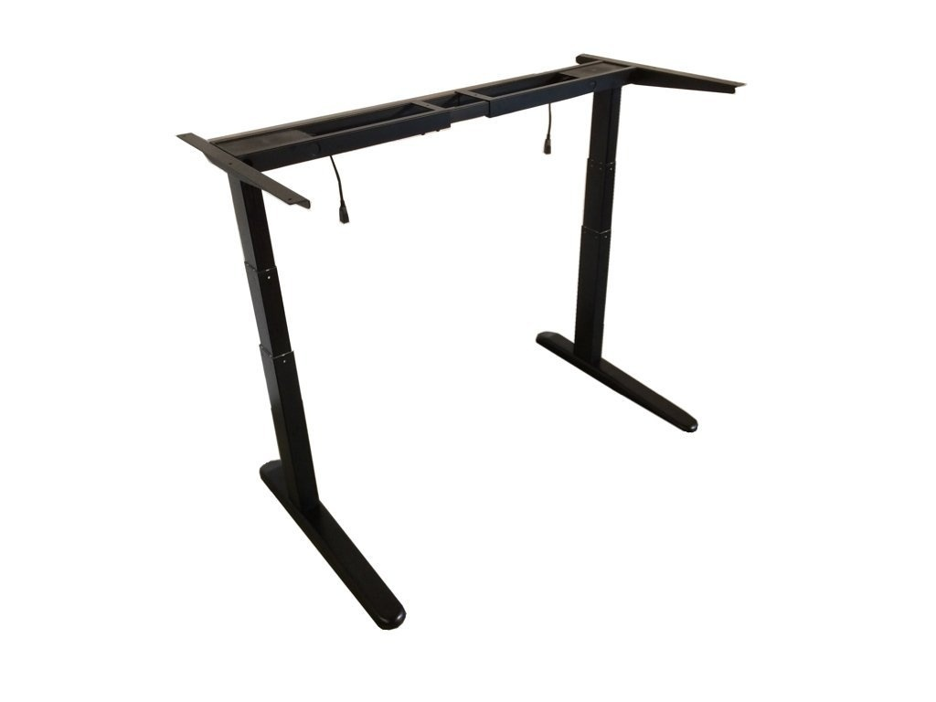 Pleasing Jarvis Electric Adjustable Height Standing Desk Frame Grey Download Free Architecture Designs Xaembritishbridgeorg