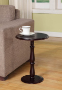 King's Brand PS23 Plant Stand Accent Side End Table, Cherry Finish