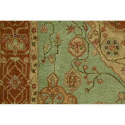 Nourison HE16 Heritage Hall Rectangle Hand Tufted Rug, 22cm by 29cm , Aqua