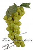 Green Grapes Artificial Fruit Kitchen Counter Bowl
