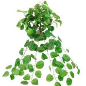 80cm Silk Creeping Charlie Plant Bush Home Wedding Greenery - Green g05