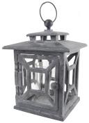 Esschert Design USA WL27 Cast Iron Garden Lantern, Square