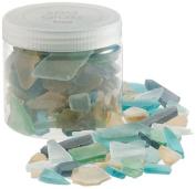 Tag 450463 Multi Coloured Decorative Sea Glass Accents