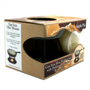 Bright Ideas Candle Wax Warmer Gift Pack, Apple Pie