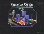 Halloween Led Candles St of 3