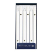 30cm Colonial Candle Classic, White