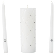 Wilton Graceful Wedding Day Collection Unity Candle and Taper Candles Set