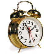 Advance Twin Bell Key wind Alarm Clock