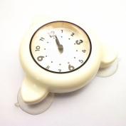xhorizon Bathroom Shower Kitchen Clock Waterproof Watch(White£©