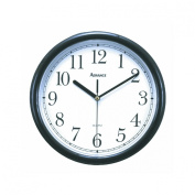 ADVANCE CLOCK CO. 25cm Wall Clock [Black]