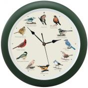 Mark Feldstein and Associates DLB023GR Original Singing Bird Clock 33cm Green