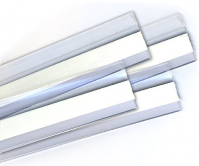 Incredible Door Bottom Draught Stoppers -90cm SET of 4 Door Clear Sweeps - Keep the Heat Inside Your Home