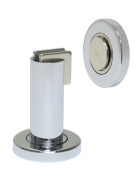 FPL Door Locks H2017 Heavy Duty Magnetic Door Stop / Holder for Home or Office in Polished Chrome