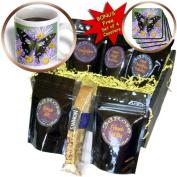cgb_95496_1 Danita Delimont - Butterflies - Butterfly on Flowers, Purple Spotted Swallowtail - US48 DGU0519 - Darrell Gulin - Coffee Gift Baskets - Coffee Gift Basket