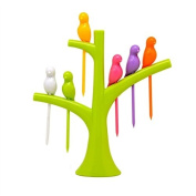 Creative, decorative stainless steel fruit fork Household daily necessities arts and crafts wholesale, tree