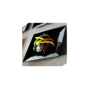 EMI Yoshi Koyal Square Salad Plates, 20cm , Black, Set of 10
