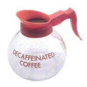 COFFEE POT,GLASS, DECAF, EA, 15-0256 WILBUR CURTIS COMPANY COFFEE SERVERS