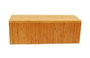 Cal-Mil 166-7-60 Bamboo Rectangle Riser, 18cm H