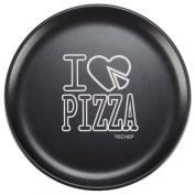TeChef - 36cm Pizza Pan with Teflon Select Non-Stick Coating (PFOA Free) / DuPont Print Designs Technology