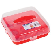 Sure Fresh Plastic Cupcake Carriers with Handles