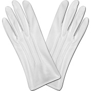 Deluxe Theatrical Gloves (white) Party Accessory (1 count)