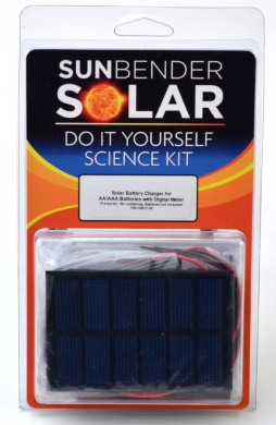 Sunbender Do-It-Yourself Solar Battery Charger AA/AAA No Soldering Pre-wired