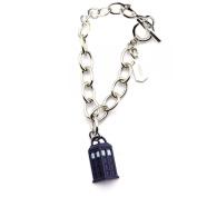 Doctor Who 1/2 Tardis Charm Bracelet
