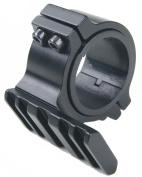 "Nuoya001 25.4mm 1"" 30mm Ring 20mm Weaver Barrel Mount Rail Adapter for Scope Flashlight"