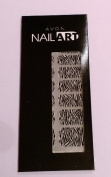 Avon Quality Nail Art Design Wraps in True Zebra