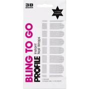 Salon System Nail Wraps Bling To Go Crystal Rocks
