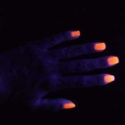 Janet Neon Nail Varnish15ml - Orange