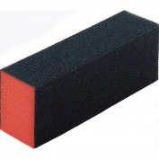 Restly(TM) 5Pcs Orange and Black Nail Buffing Block