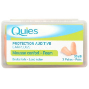 Quies Protection Auditive Earplugs