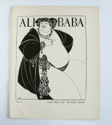 """Aubrey Beardsley - Antique Print - Cover Design For """"The Forty Thieves"""""""
