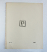 Aubrey Beardsley - Antique Print - Initial. Letter P.