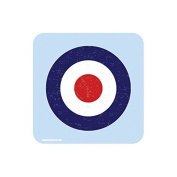 """RAF ROUNDEL BLUE"" UK MILITARY Coaster - British Forces Themed Design"