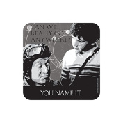 """GO ANYWHERE"" TIME BANDITS Coaster - Film / Movie Themed Design"