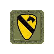"""1st AIR CAVALRY"" US MILITARY Coaster - American Army Themed Design"