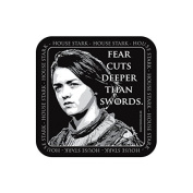 """""""FEAR CUTS DEEPER"""" GAME OF THRONES Coaster - TV / Television Themed Design"""