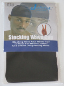 Stocking Wave Cap Black Du Rag Doo Rag Skull Cap #1005