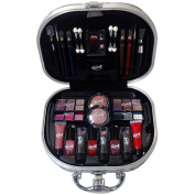 Gloss Glamour and Fashion Makeup Case - 46 Piece