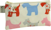 Vagabond Scottie Dog Oil Cloth Large Cosmetic Toiletries Bag